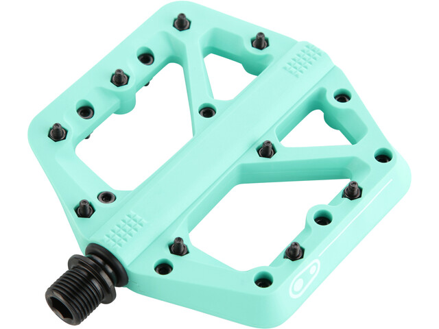 Crankbrothers Stamp 1 Pédales Splash Edition, turquoise